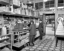 Historical Photograph of the People's Drug Store in Washington DC  1920c 8x10