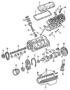 OEM NEW 1991-2000 GM Chevrolet GMC K2500 Engine Crankshaft Main Bearing 10181306
