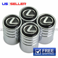 VALVE STEM CAPS WHEEL TIRE CHROME FOR LEXUS - US SELLER VE18