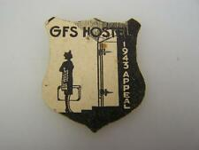 1943 GFS Girls Friendly Society Hostel appeal donation card badge          1816