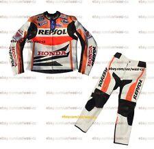 Honda Repsol Leather Motorbike Suit, MOTOGP Honda Motorcycle Racing Suit