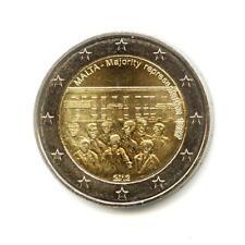 Malta 2 euro 2012 1887 Majority Representation UNC (#1786)