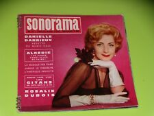 SONORAMA - NO. 21 - DANIELLE DARRIEUX - ROSALIE DUBOIS - JULY/ AUGUST 1960