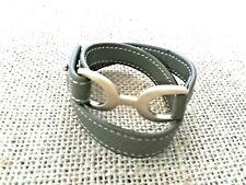 HIGH END - Roberto by RFM Link Belt Bracelet  S/M - 100% leather