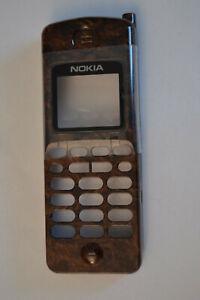 Nokia 2140 genuine wooden  coloured  front cover vintage NOS