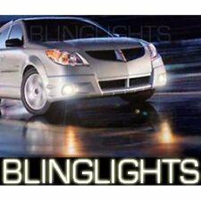 2003 2004 Pontiac Vibe GT Halo Foglamps Angel Eye Foglights Driving Fog Lamps