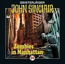JOHN SINCLAIR: FOLGE 50 - ZOMBIES IN MANHATTAN  CD NEU