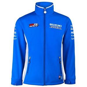 Genuine Suzuki 2020 MotoGP Team Ecstar GSX-RR Soft Shell Jacket