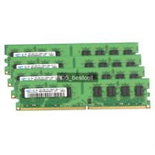 New Samsung 8GB 4X2GB DDR2-800MHz PC2-6400 240PIN Desktop Memory Dual Channel