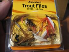 12 Assorted Smi Beau Mac Trout Flies / Size 10 Hooks / Fly Assortment 36923