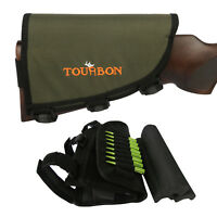 Tourbon Hunting Rifle Butt Stock Cheek Riser with 3 Cheek Rest Pad Left Handed