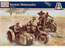 ITALERI 1/72 FIGURES WWII GERMAN MOTORCYCLES