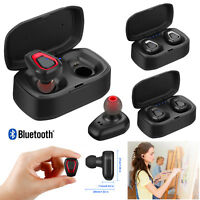 Mini Wireless Earbuds Bluetooth Headphones Stereo Earphone In Ear For Call Music