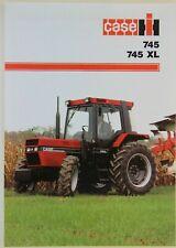 prospectus brochure tracteur CASE IH 745 - 745 XL tractor traktor prospekt