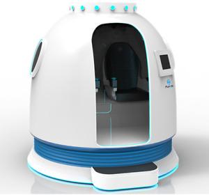 Virtual Reality Spaceship VR Flight Simulator Motion 9D Shooter Arcade SEE VIDEO