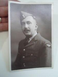 Vintage Photograph Military RAF Man In Uniform       §A629