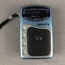 Street Beat AM/FM Handheld Portable Sport Mobile Radio VTG 80s Technology LP