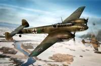 Airfix Messerschmitt Me Bf110C Florenz France Italy 1943 Modell-Bausatz 1:72 kit