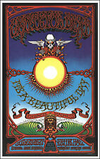 GRATEFUL DEAD 1969 Hawaii Concert Poster Rick Griffin