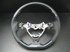 MIT Toyota CAMRY 2012-on Carbon fiber look style leather steering wheel-SPORTS