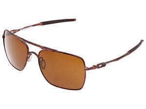 Oakley Deviation Sunglasses OO4061-08 Brown Camo/Dark Bronze