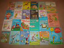 Bright and Early Beginner Books LOT Dr Seuss Disney Kids Lorax Cat in Hat DVD HC