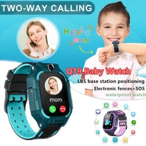 Q19 Waterproof Children Smart Watch GPS Locator Touch Screen Tracker For Kids