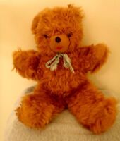 Vintage 1950s Master Industries Orange Teddy Bear St. Paul Mn. HTF Plush Stuffed