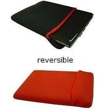 Housses et sacoches etuis rouges en néoprène pour ordinateur portable