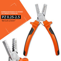 230C Ratchet Wire Crimper Insulated Bare Terminal Jaw For Crimping Plier K6