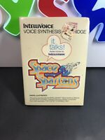 Intellivoice Intellivision Game Space Spartans Sealed