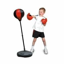 Kids Boys Childrens Punch Bag Speed Ball Boxing Sport Set Mitts Gloves Toy Sale