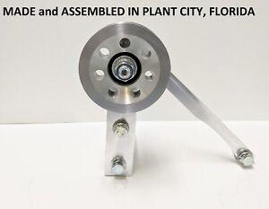 1985 - 1991 Corvette C4 Smog Pump Elimination Kit (CNC Machine Finish) USA!!