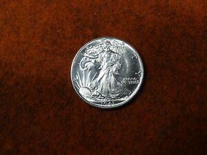 1943 Walking Liberty Half Dollar ,90% Silver ,Unc   (L)