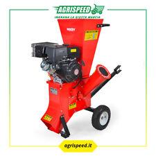 Biotrituratore con motore a scoppio 389 cc - biocippatore cippatore a benzina.