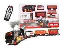 XL Modelleisenbahn Elektrische Batterie Eisenbahn 3 Waggons 213 x 120 cm RAUCH !