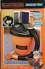Junior Shop Vac Vacuum Toy Kids black & decker Sounds & Action