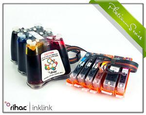 RIHAC CISS for Canon TS8060 & TS9060 PGI-670 CLI-671 Cartridges Ink System CIS
