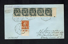 1931 Marseille a Shanghai China  France Cover to USA via SS Andre Lebon Ship