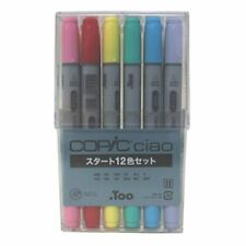 Too 054925 Manga Anime Comic Markers Copic Ciao 12 Color Start Set