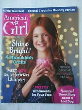 American Girl Magazine November/December 2018 Hanukkah Crafts, Tree Ornaments