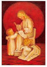 """vintage blank greeting cards  ARS SACRA Spötl""""angels helps""""1362"""""""