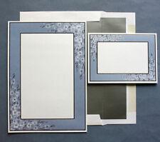 Soft Periwinkle Floral DIY Printable Wedding Invitation Kit 50 Ct Gartner Studio