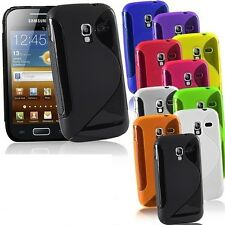 NEW GEL CASE FOR SAMSUNG GALAXY ACE 2 + FREE SCREEN PROTECTOR