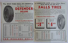 Ceazan Tires LTD Catalog Mailer (Dealers Confidential Catalog) Original Rare
