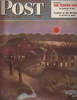 1946 Saturday Evening Post Jan 12-1st Marines campaigns; Bucks County PA