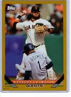 Brandon Crawford 2019 Topps Archives 5x7 Gold #283 /10 Giants