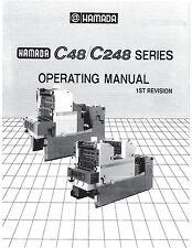 Hamada C48 C248 Operator Manual (68)