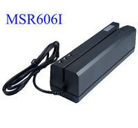 MSR606i Magnetic Stripe Credit Card Reader Writer Encoder Magstripe Swipe MSR206