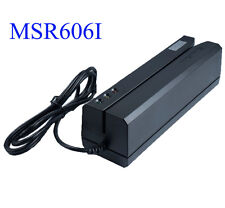 MSR606i Magnetic Stripe Credit Card Reader Writer Encoder Swipe MSR206 605X